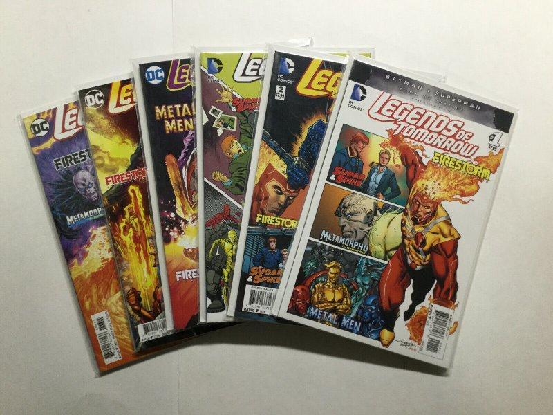 Legends Of Tomorrow 1-6 1 2 3 4 5 6 Lot Run Set Near Mint Nm Dc Comics