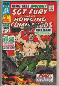Sgt. Fury and His Howling Commandos King-Size Special #3 (Aug-67) VF/NM High-...