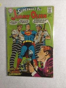 Superman's Pal Jimmy Olsen 114 Fine- Fn- 5.5 Dc Comics