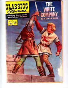 Classics Illustrated #102 (Dec-52) GD- Affordable-Grade