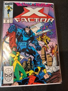 ​X-Factor #25 1988  2nd App of Archangel - Apocalypse & Four Horsemen App NM