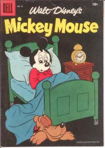 MICKEY MOUSE 51 FINE Dec.-Jan. 1957 COMICS BOOK