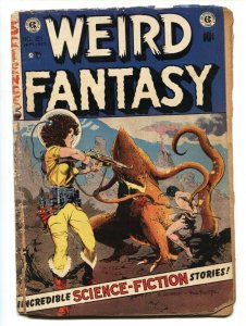 WEIRD FANTASY #21 comic book--Frank Frazetta cover E.C. GOLDEN AGE-1953