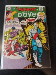 Hawk and the Dove #1 STEVE DITKO ART 1968! Fine+  Nice Book!