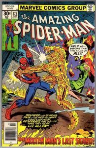 SPIDERMAN 173  FN-  Oct. 1973 COMICS BOOK