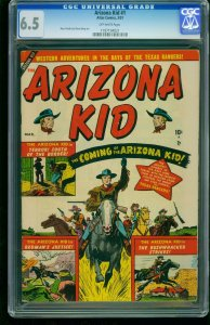 Arizona Kid #1 1951-CGC 6.5-Russ Heath Atlas Western- Southern States 1197194021