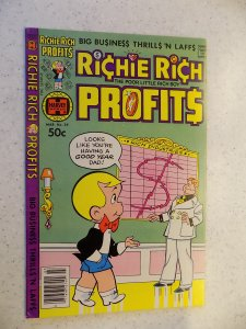 RICHIE RICH PROFITS # 39 HARVEY CARTOON ADVENTURE FUNNY