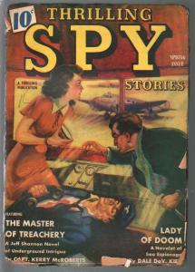 Thrilling Spy Stories-Winter 1940-hero pulp-The Eagle-Bellem-pulp thrills-G
