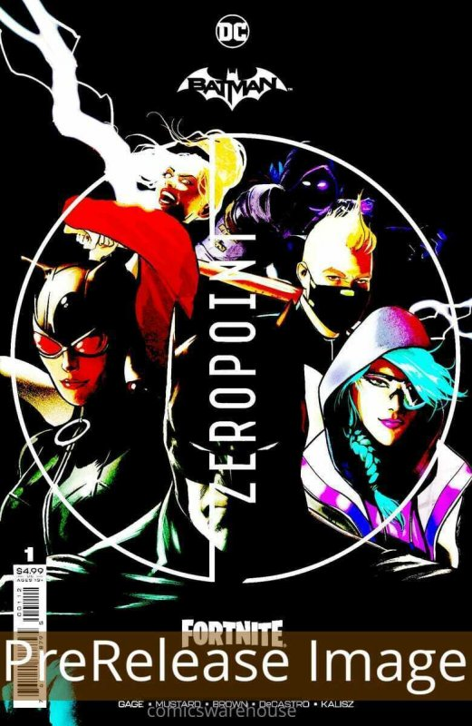 BATMAN FORTNITE ZERO POINT (2021 DC) #1 Third Print PRESALE-06/01