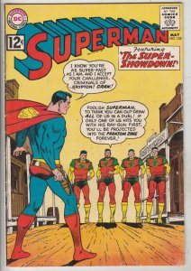 Superman #153 (May-62) FN- Mid-Grade Superman, Jimmy Olsen,Lois Lane, Lana La...
