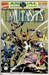 NEW MUTANTS #7, Annual, NM+, Mike Mignola, Cable, X-men, more in store
