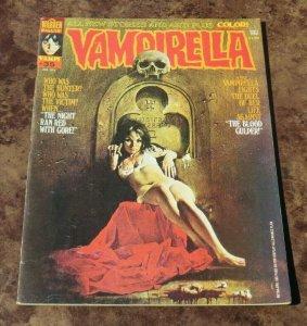 Vampirella #35 FN/VF 1974 Bronze Age Sci-Fi/Horror Comic Magazine Blood Gulper