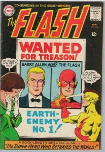 Flash 156 Nov 1965 VG (4.0)