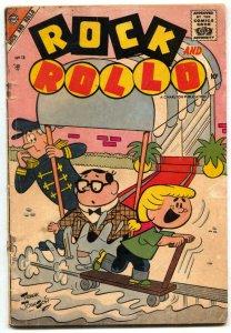 Rock and Rollo #14 1957- 1st issue- Rare Charlton Humor VG-