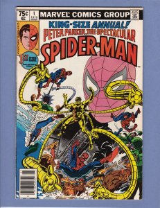 Spectacular Spider-Man Annual #1 FN/VF Doctor Octopus