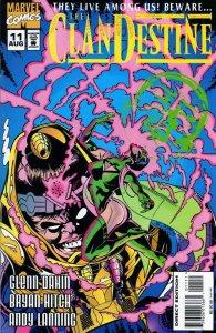 ClanDestine #11 FN; Marvel   save on shipping - details inside