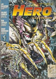 Hero Illustrated #9 FN; Warrior | save on shipping - details inside