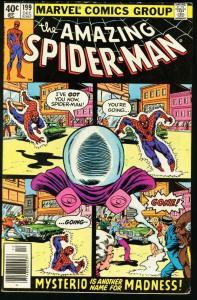 AMAZING SPIDER-MAN #199-1979-MYSTERIO-MARVEL-very good/fine VG/FN