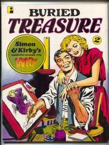 Buried Treasure Fanzine #2 1986- Torchy- Simon & Kirby- Frazetta