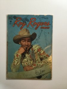 Roy Rogers 17 Good- Gd- 1.8 Dell Publishing
