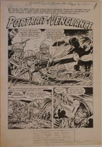 MIKE SEKOWSKY / AL RUBANO, original art, THIS IS WAR #8, pgs 1-7,Full story,1953