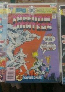 freedom fighters # 2 1976 dc comics uncle sam doll man phantom lady ray bomb