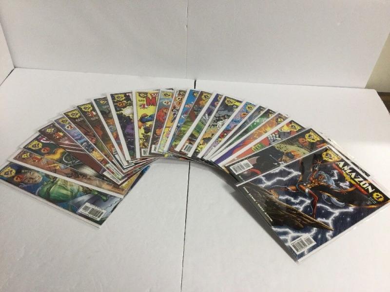 DC Versus Marvel 1-4 DC/Marvel All Access 1-4 Amalgam 24 Issue Lot Nm     IK