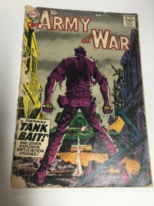 Our Army At War 80 Gd Good 2.0 Top Staple Detached DC Comics Silver Age