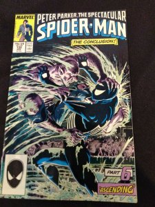 Peter Parker The Spectacular Spider-Man #132 Marvel Comics 1987 Kraven