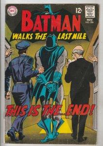 Batman #206 (Nov-68) VG Affordable-Grade Batman