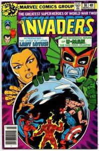 INVADERS #38, VF+, Captain America, U-Man, Lady Lotus, 1975 1979, more in store