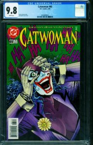 Catwoman #65 1999-cgc Graded 9.8 JOKER COVER 2039899001