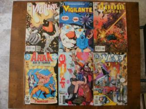 6 DC Comic Book: VIGILANTE #1 15 DOOM PATROL #8 ARAK #24 SHADE GIRL #1 NEXT #5