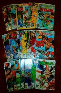 Hawkman   vol. 2   #1-17, Special #1 +++ (set of 23)