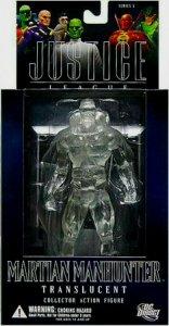 DC Direct Justice League Martian Manhunter Translucent Figure - Series 5 - MIB