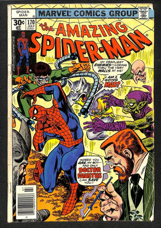 The Amazing Spider-Man #170 (1977)