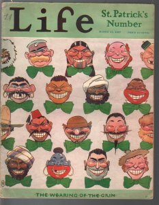 Life 3/17/1927-platinum age cartoonists-Herb Roth-Nate Collier-Marge-FN