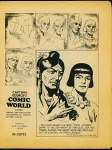 Captain George's Comic World Fanzine #5 - Hal Foster- Prince Valiant FN