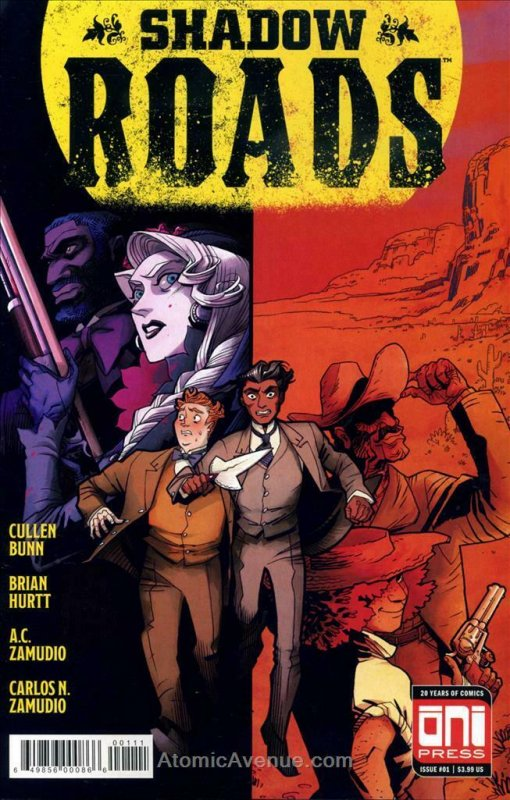 Shadow Roads #1A VF/NM; Oni | save on shipping - details inside