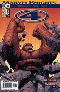 4 (Marvel Knights) (2004) 10-12 The Stuff Of Nightmares