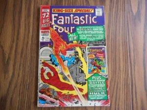 Fantastic Four Annual #4 KEY ORIGIN/1st APP G.A. HUMAN TORCH HIGHER GRADE GEM!!