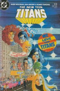New Teen Titans, The (2nd Series) #6 VF/NM; DC   save on shipping - details insi