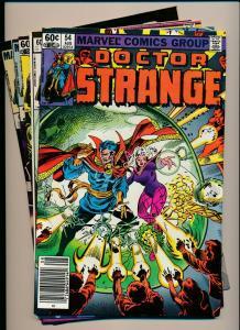 LOT of 4 Comics!  Marvel DOCTOR STRANGE #54,56,57,62  FINE/VERY FINE (PF798)