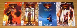 Superman Returns Movie Prequel #1-4 VF/NM complete series JIMMY PALMIOTTI 2 3