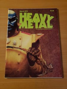 Heavy Metal Vol. 1 #12 ~ NEAR MINT NM ~ March 1978 illustrated Magazine