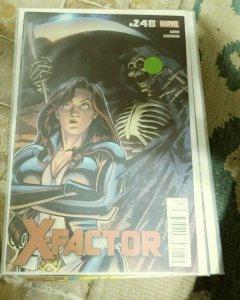 X-Factor  # 248  2012 marvel   MADDOX MONET POLARIS