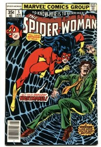SPIDER-WOMAN #5 First full appearance Morgan Le Fey VF