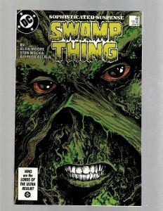 Swamp Thing # 49 NM DC Comic Book Alan Moore Justice League Dark Batman GK21