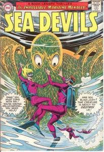 SEA DEVILS 17 F+   June 1964 COMICS BOOK