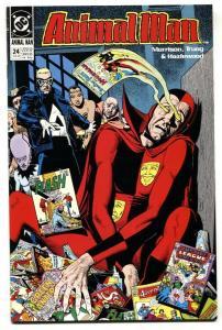 Animal Man #24 1990-comic book-DC silver-age comic keys cvr